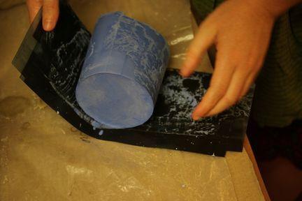 Le plâtre a durci
