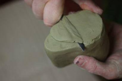 Modelage en argile pour moule réfractaire